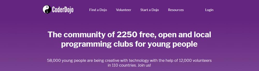 CoderDojo website