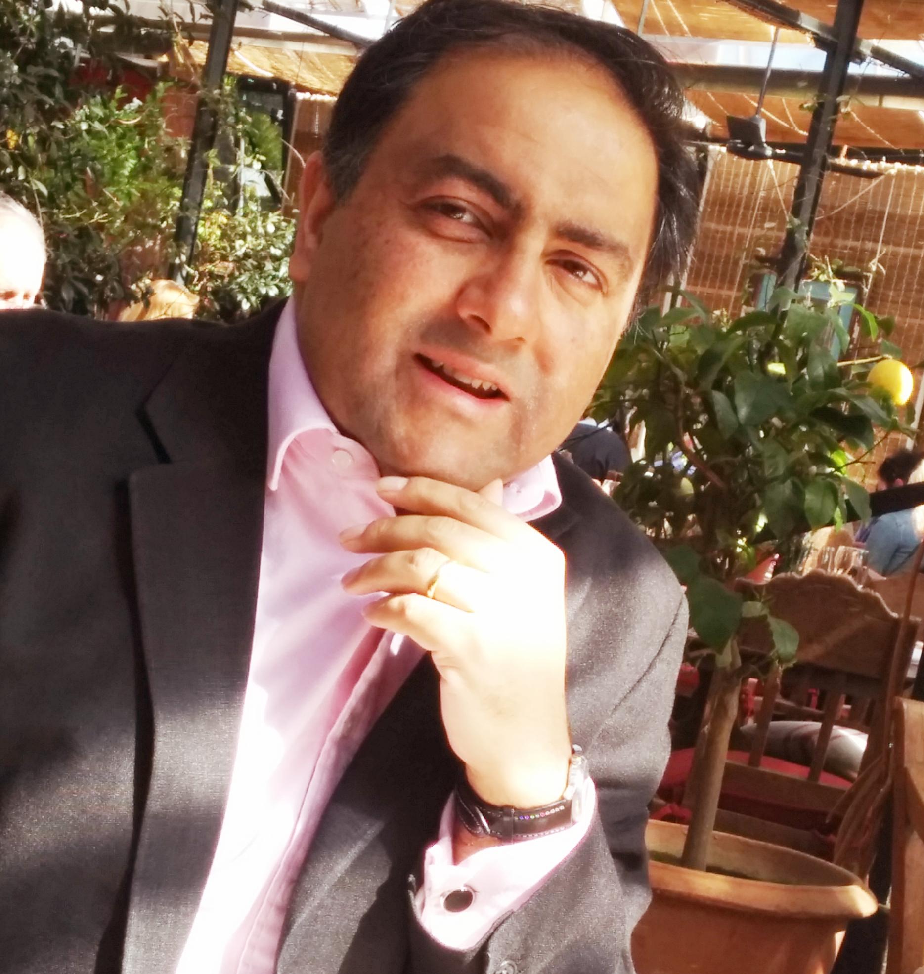 Tariq Rashid headshot